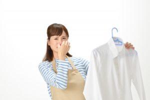 ワキガ匂い移り洗濯